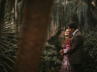 Botanical Gardens Engagement Shoot with Ashley & Maira