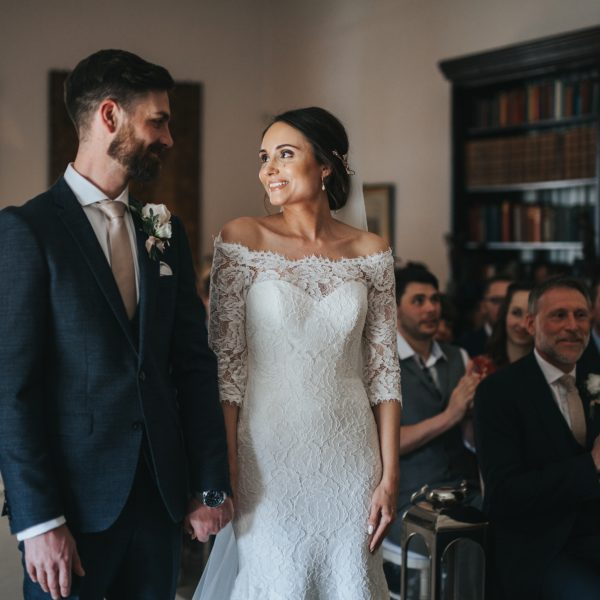 Hemswell Court Wedding With James Harriet