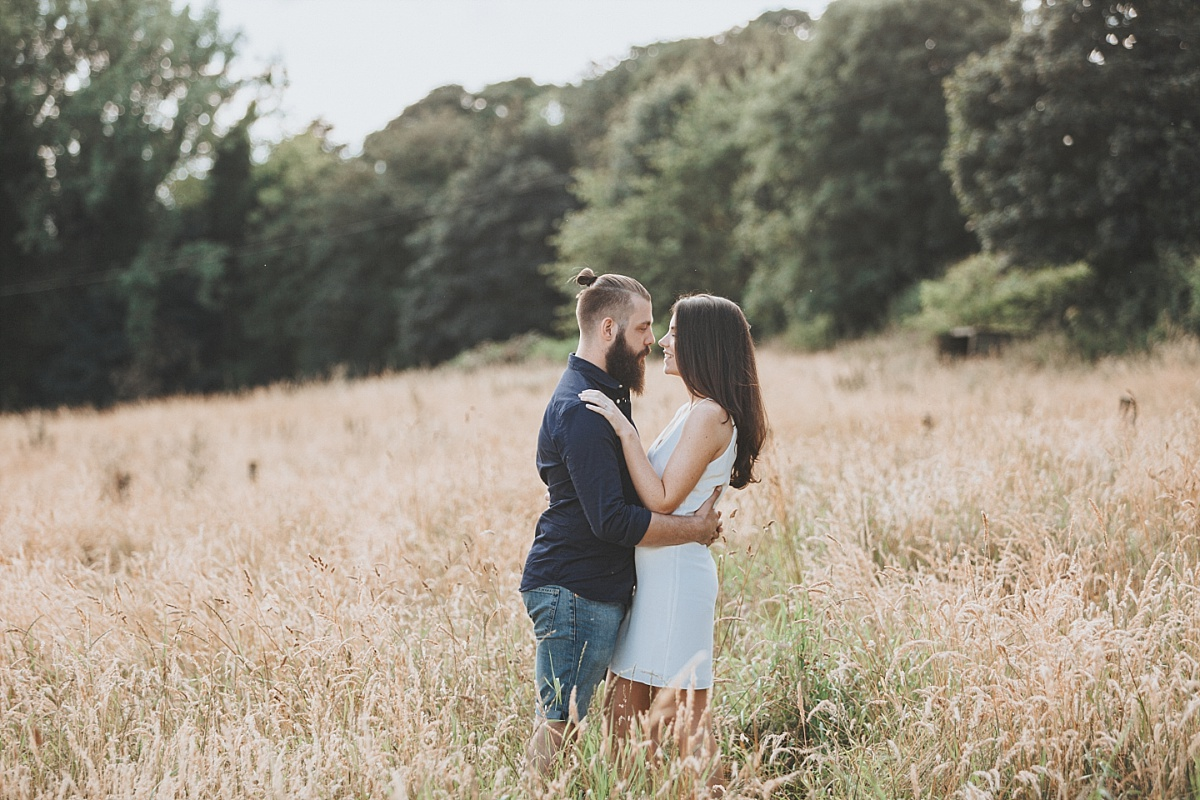 Lincolnshire Wolds Engagement shoot 035