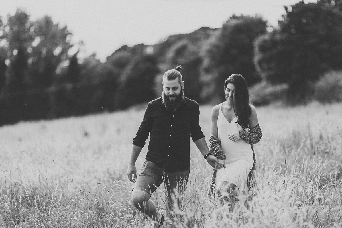 Lincolnshire Wolds Engagement shoot 038