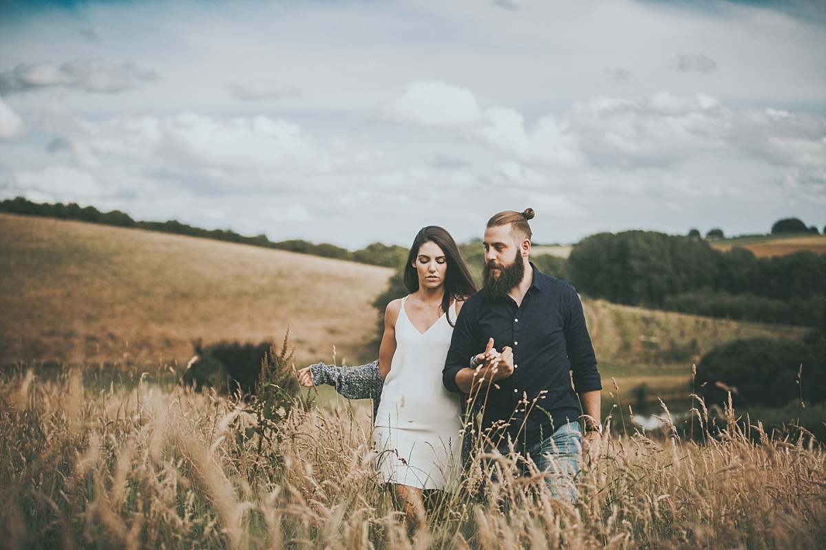 Lincolnshire Wolds Engagement shoot 040