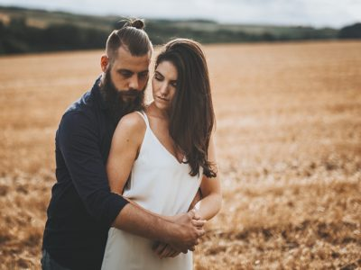 Lincolnshire Wolds Engagement Shoot With Mathew & Erin