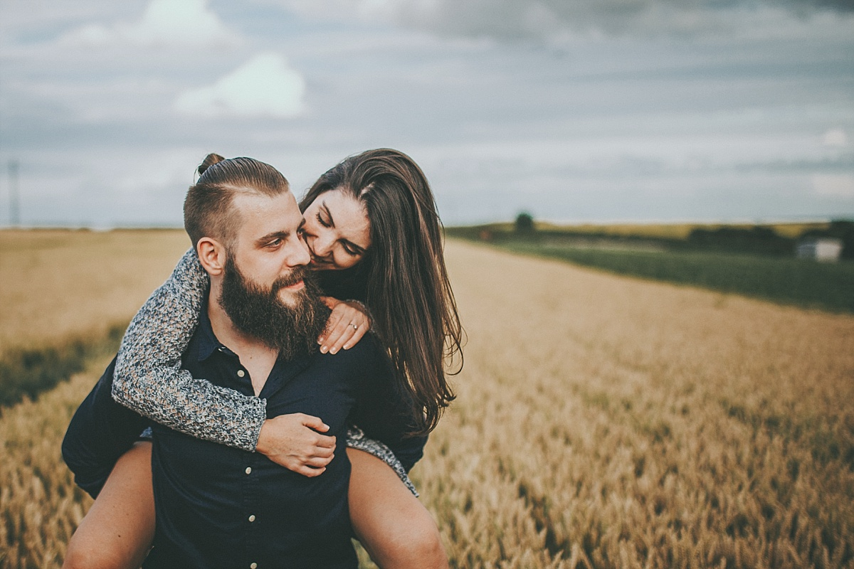 Lincolnshire Wolds Engagement shoot 063