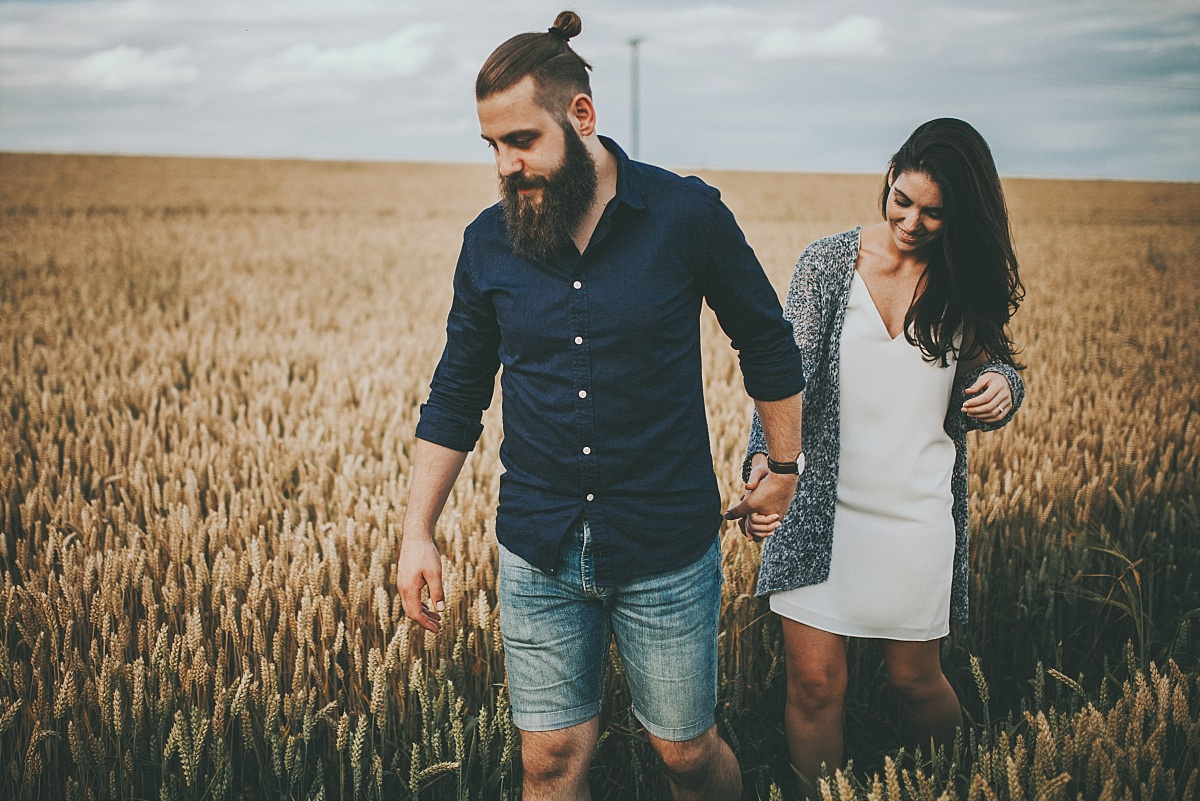 Lincolnshire Wolds Engagement shoot 064